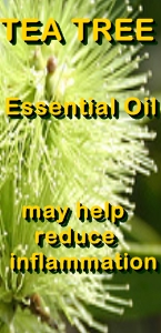 Ormus Minerals Tea Tree Healing Ormus Oil may help with inflammations